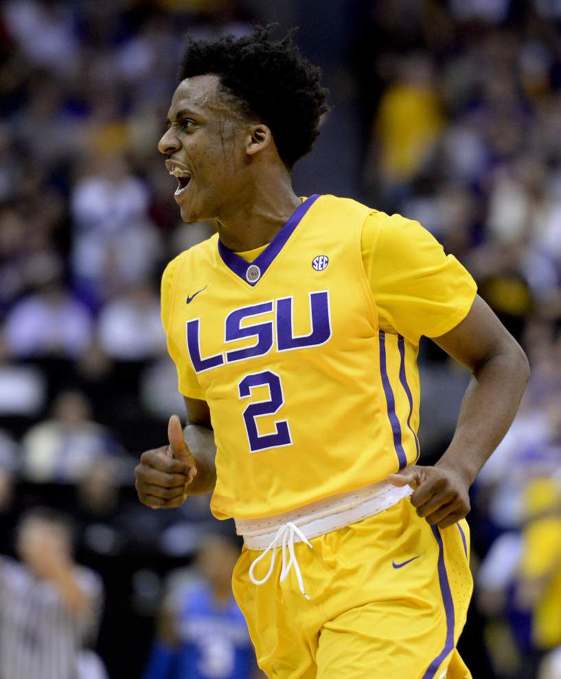 No contest: Tim Quarterman powers LSU to a convincing 85-67 victory over No. 9 Kentucky _lowres