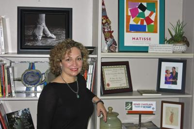 Renée Chatelain sees lots of opportunities for Arts Council _lowres