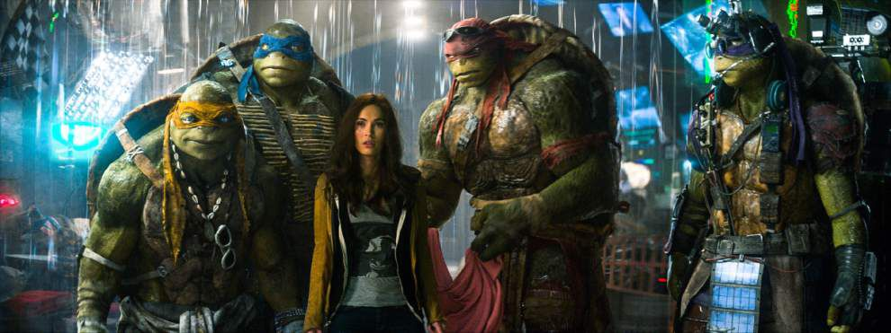 Review: A digital and divisive redesign of 'Ninja Turtles' _lowres
