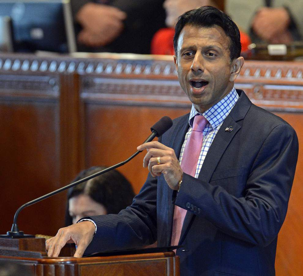 Bobby Jindal, at times sentimental, opens session by touting spending plan, taking stand on Common Core, 'religious freedom' bill _lowres