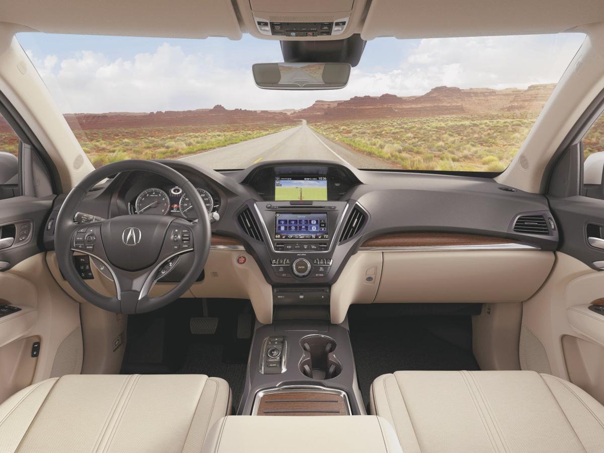 2017 Acura MDX Advance with Entertainment - Interior