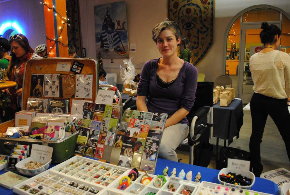 Local businesses set up shop at the Healing Center's LifeCity market _lowres