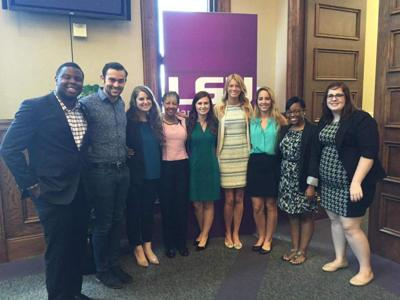 Public relations students bring home award for LSU _lowres