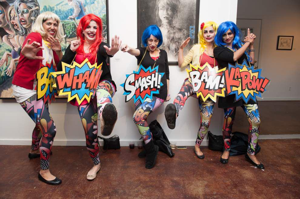 Life meets art at annual Surreal Salon Soiree _lowres