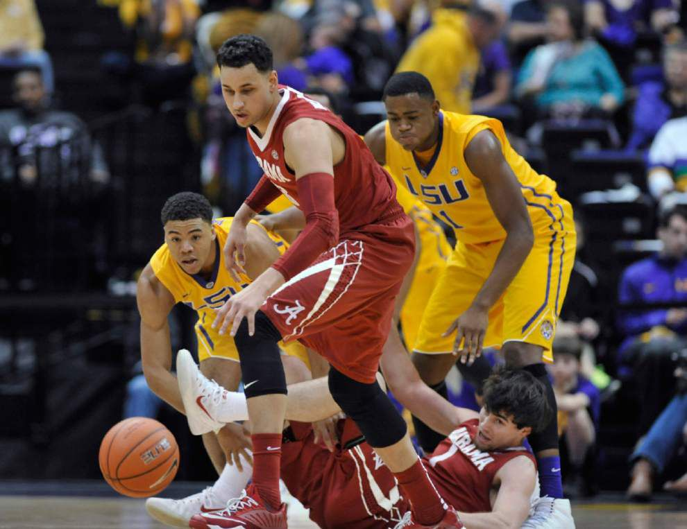 LSU opening tip: The Tigers at Texas A&M in men's basketball at 8 p.m. _lowres