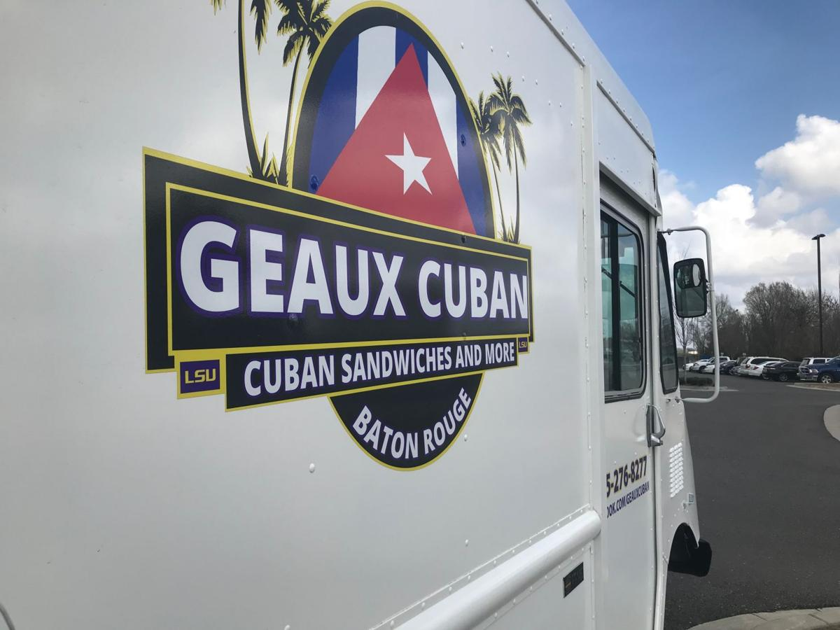 Geaux Cuban food truck for Red