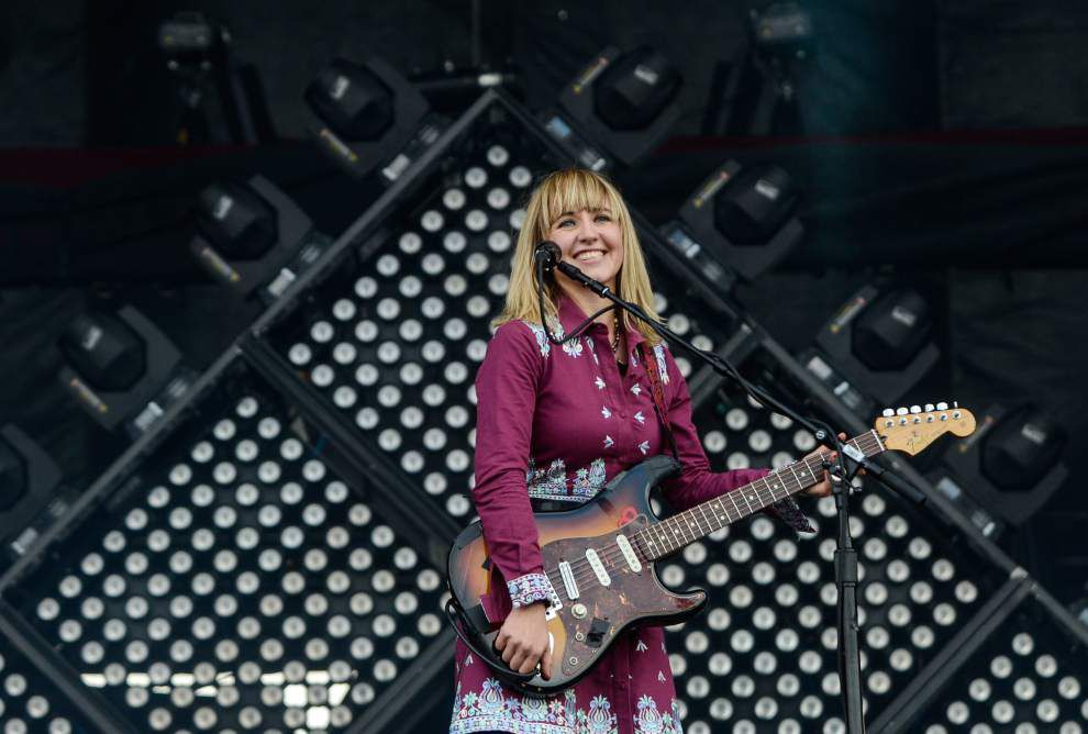 Voodoo opens with clear weather, costumed fans and will continue, rain or shine for the weekend _lowres
