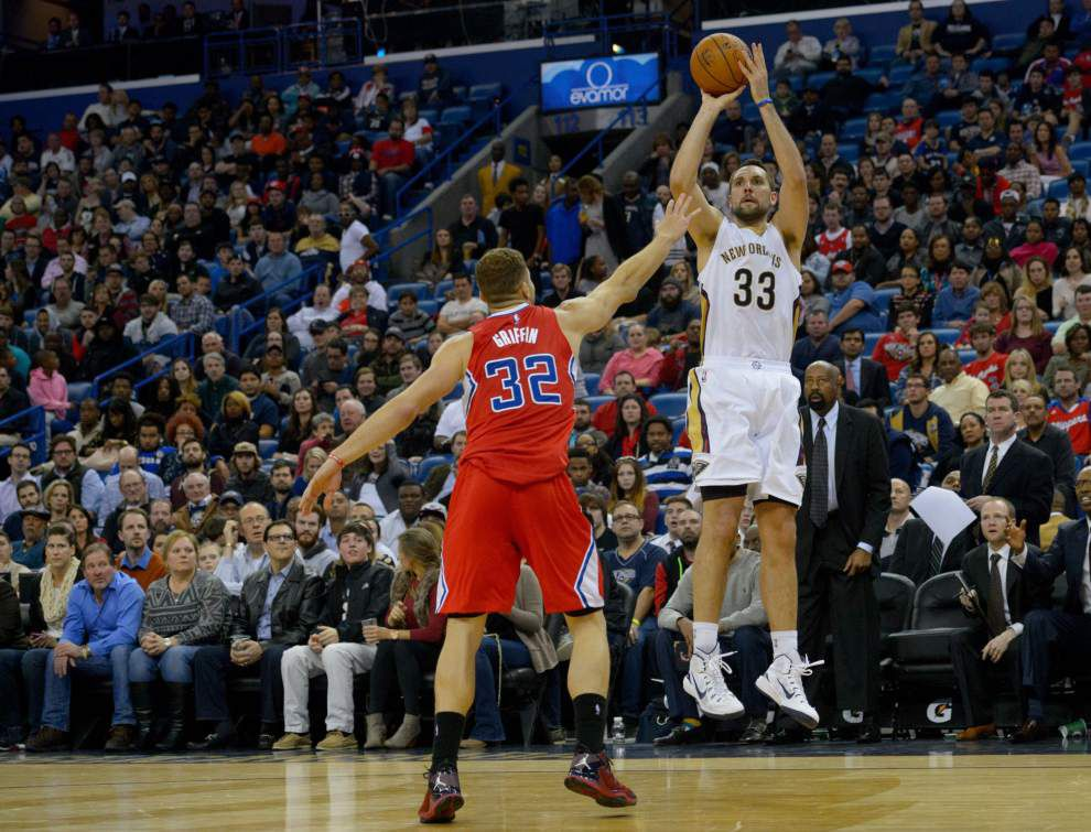 Notebook: Beyond the arc, Pelicans have been on the mark this homestand _lowres