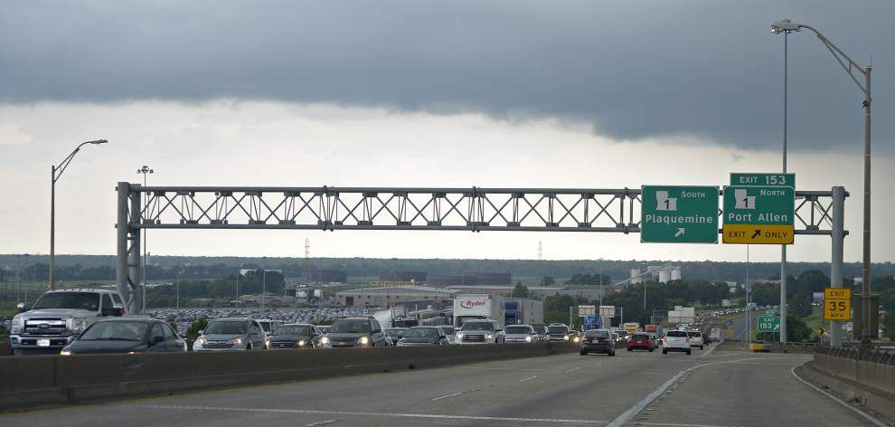 West Baton Rouge officials less than enthusiastic about state's plan for high-tech traffic message sign on La. 1 _lowres