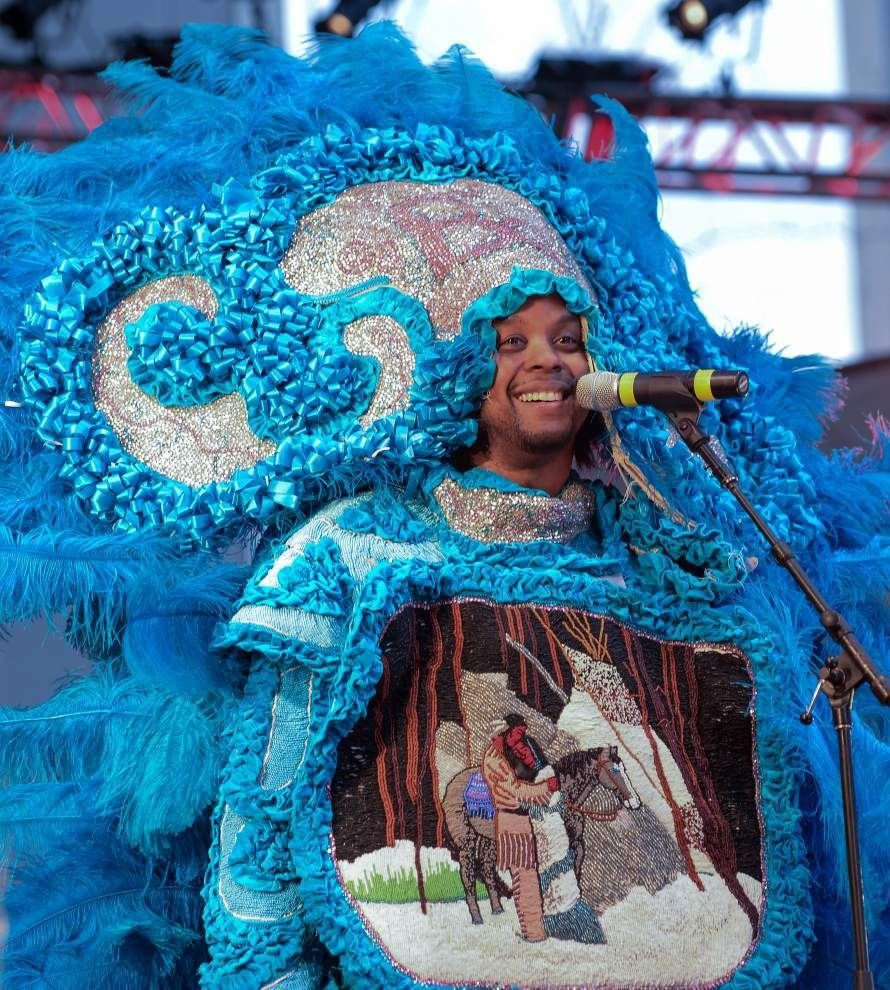 Fest beats drum for Mardi Gras Indian tradition _lowres