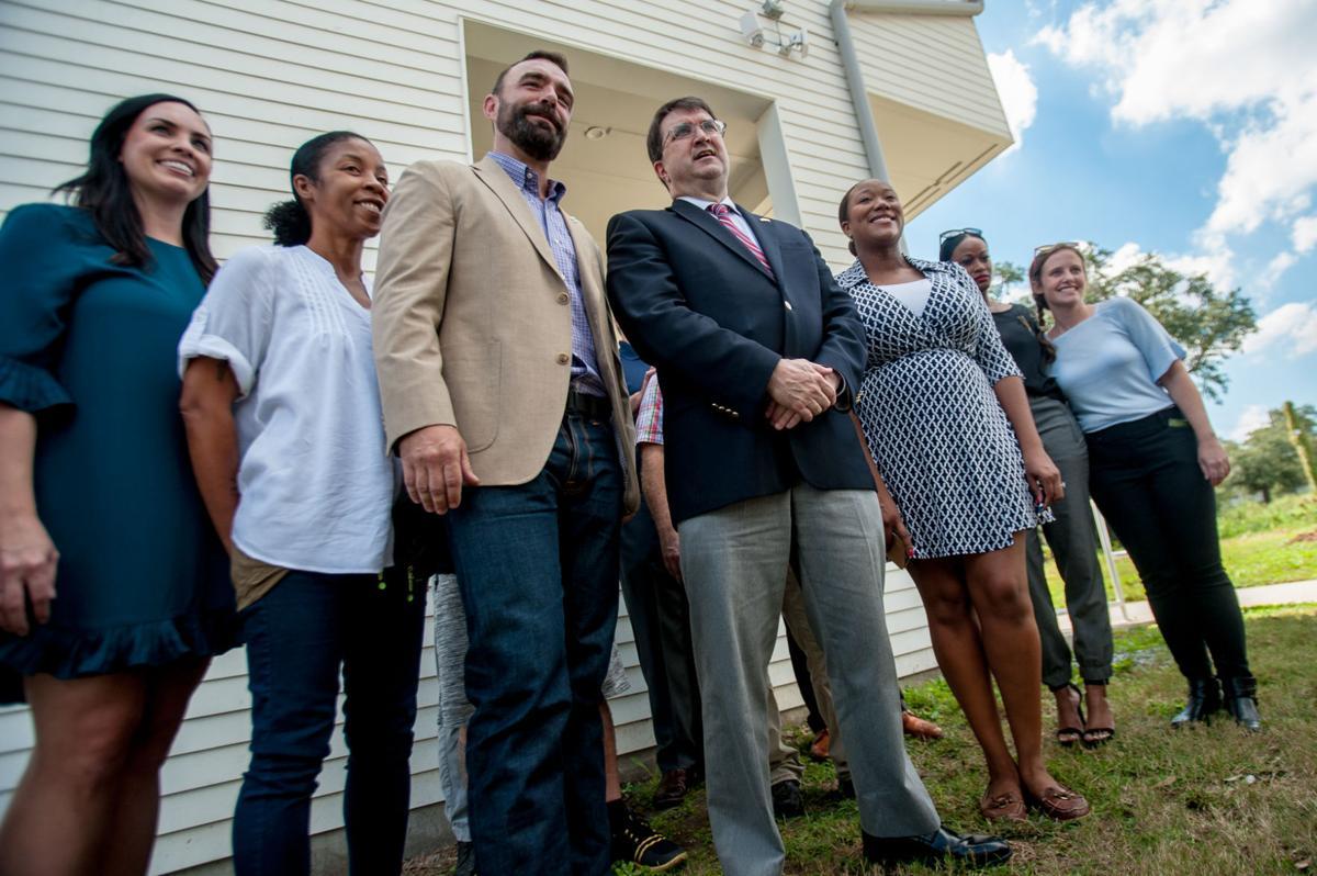 Dan Fink U S Va Secretary Praises Bastion Veterans Community In