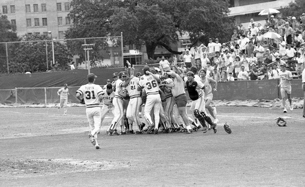 LSU's 1986 College World Series sparked a blazing trail _lowres