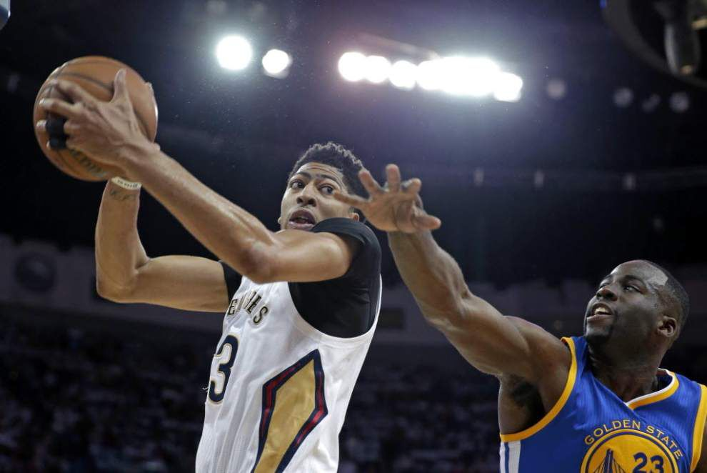Notebook: Anthony Davis ready to run in Pelicans' new system _lowres
