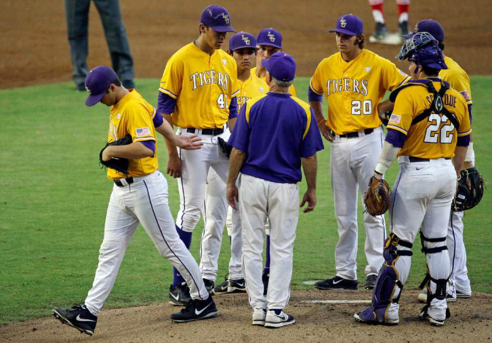 No more 'Johnny Wholestaff': LSU relievers hope to develop roles with addition of rookie starters _lowres