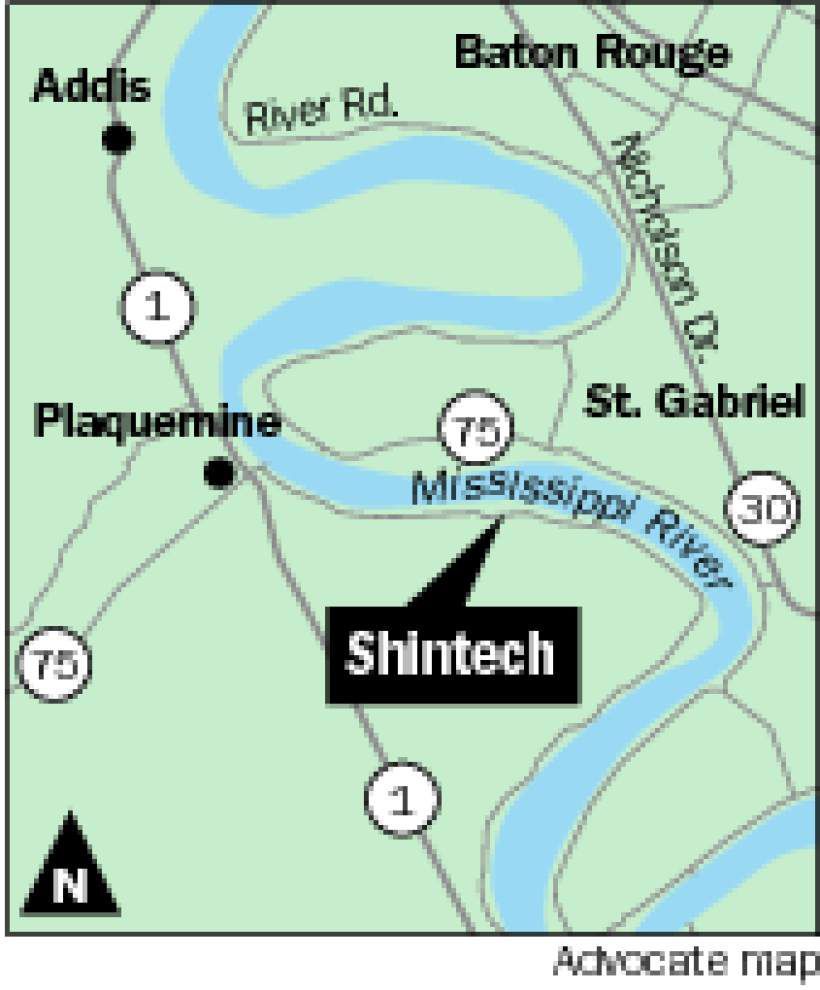 Shintech plans Iberville Parish expansion, will create 100 jobs _lowres