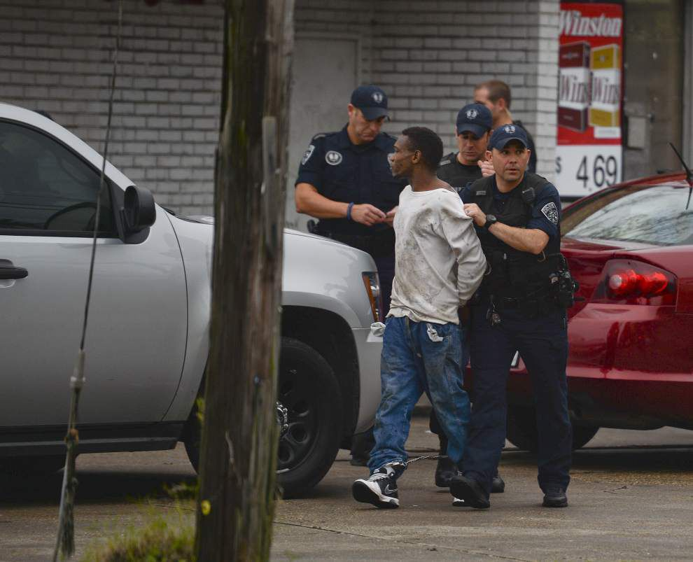 Man wanted by Texas authorities captured at Highland Road convenience store _lowres