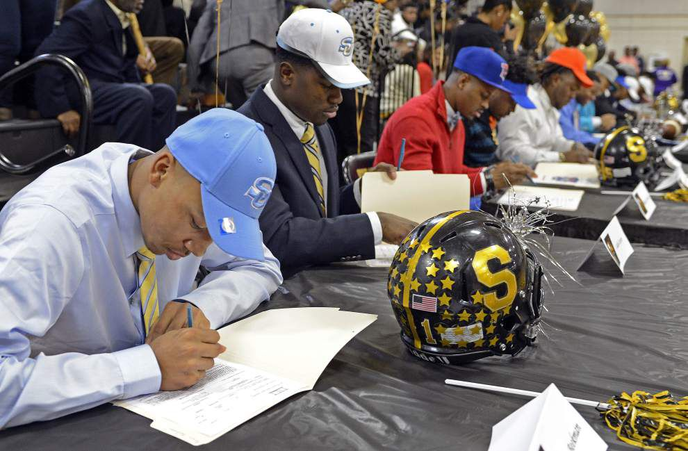 Those signing-day dreams became reality Wednesday at Scotlandville, Southern Lab and Madison Prep _lowres