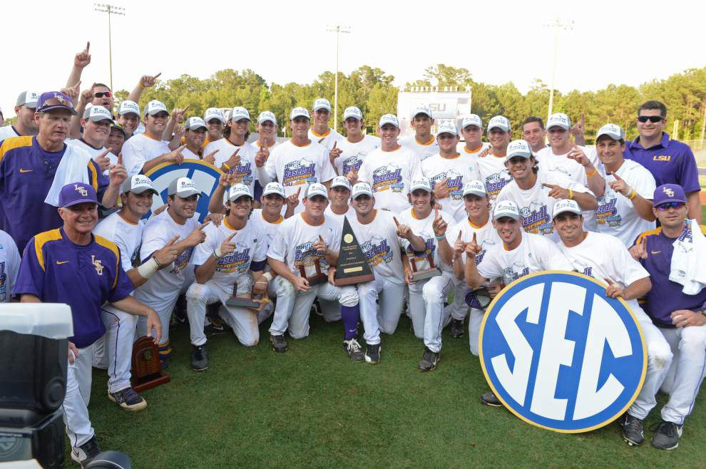 The final rankings for the LSU baseball team _lowres