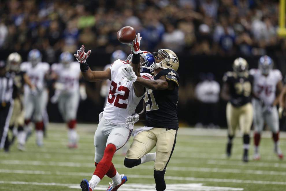 Saints cornerback Keenan Lewis holds up well in season-high workload as he returns from injury _lowres