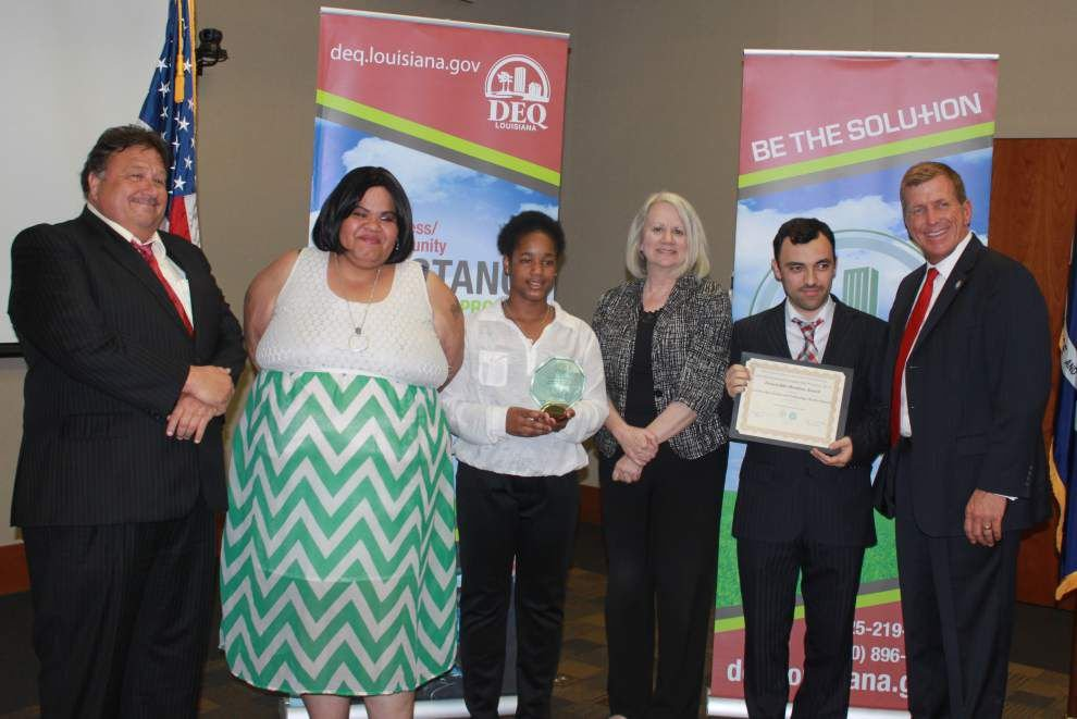 Kenilworth student's project wins pollution prevention award _lowres