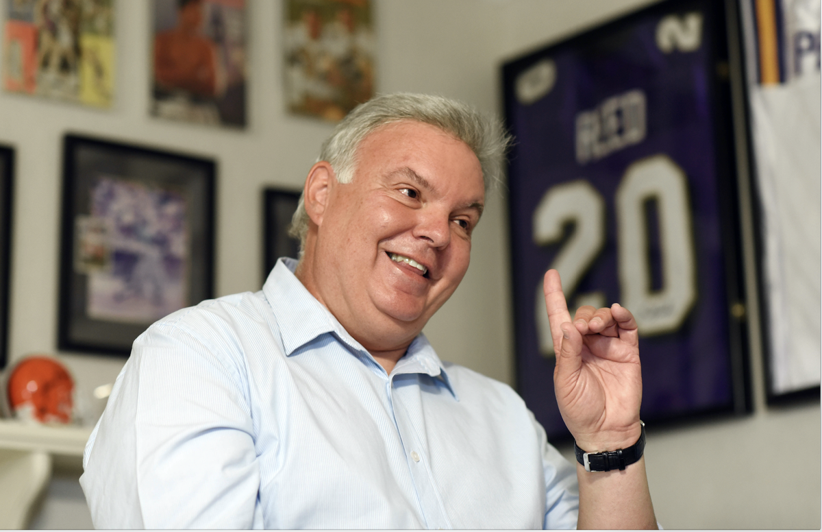Mike Detillier, draft man: The Louisiana football analyst on the NFL draft_lowres