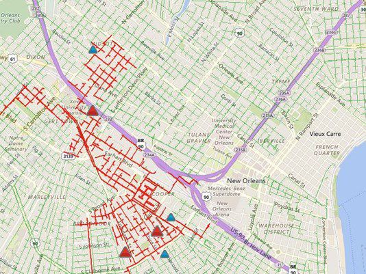 Entergy New Orleans Power Outage Map on utility outage map, entergy transmission line map, mississippi entergy outage map, comcast outage map, entergy louisiana, entergy substation map, duke energy outage map, entergy arkansas, entergy texas outage, entergy outage update,