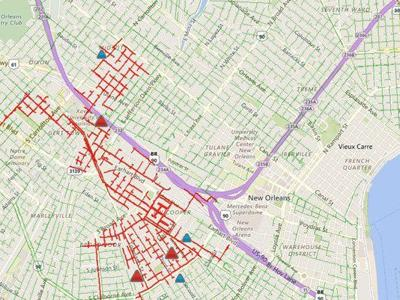 Thousands Without Power Across New Orleans Outages Stretch From Mid
