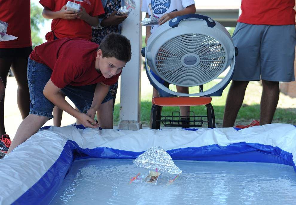Camps designed to foster math and science skills of high-performing students and low-performing Acadiana schools _lowres