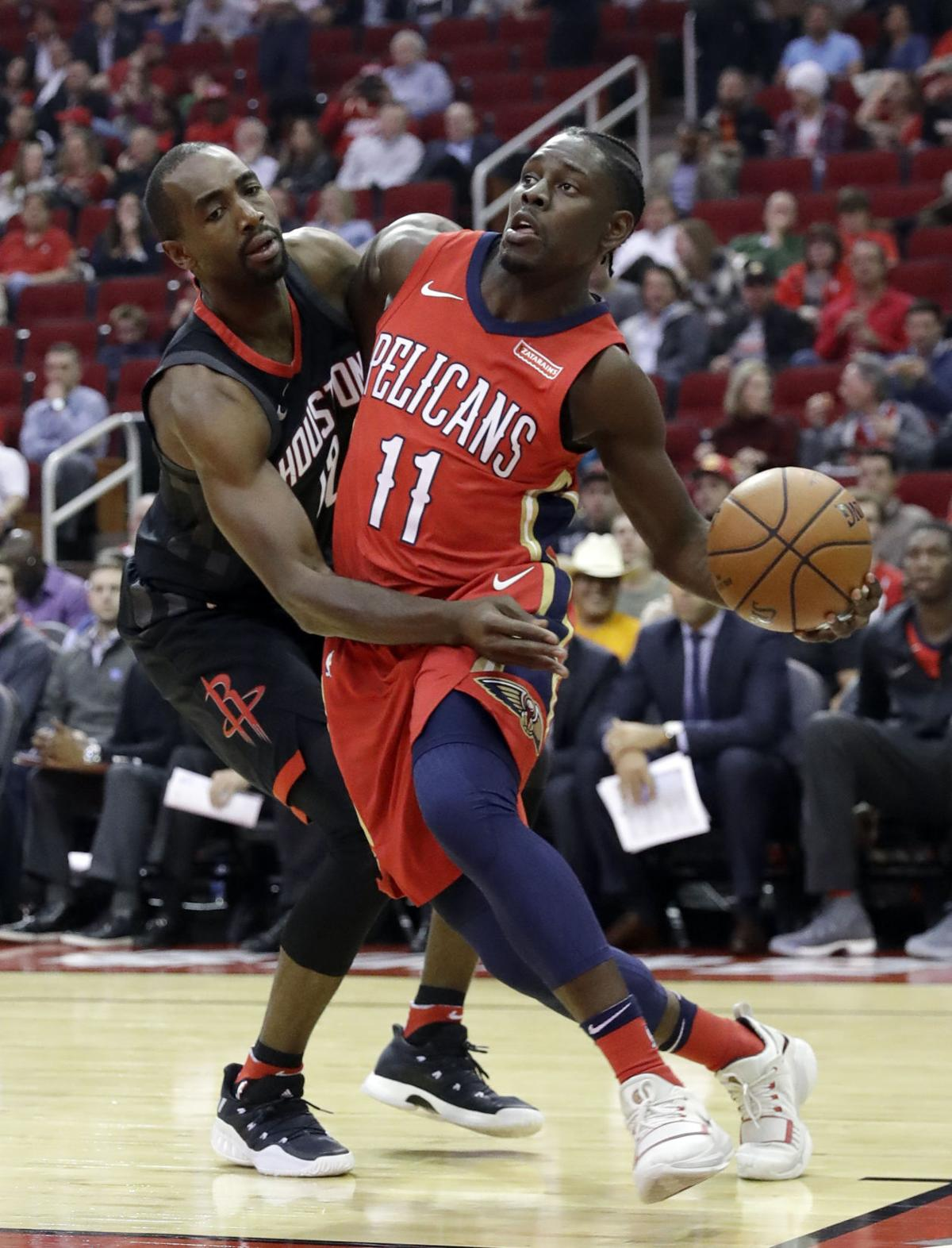 Jrue Holiday, Luc Mbah a Moute