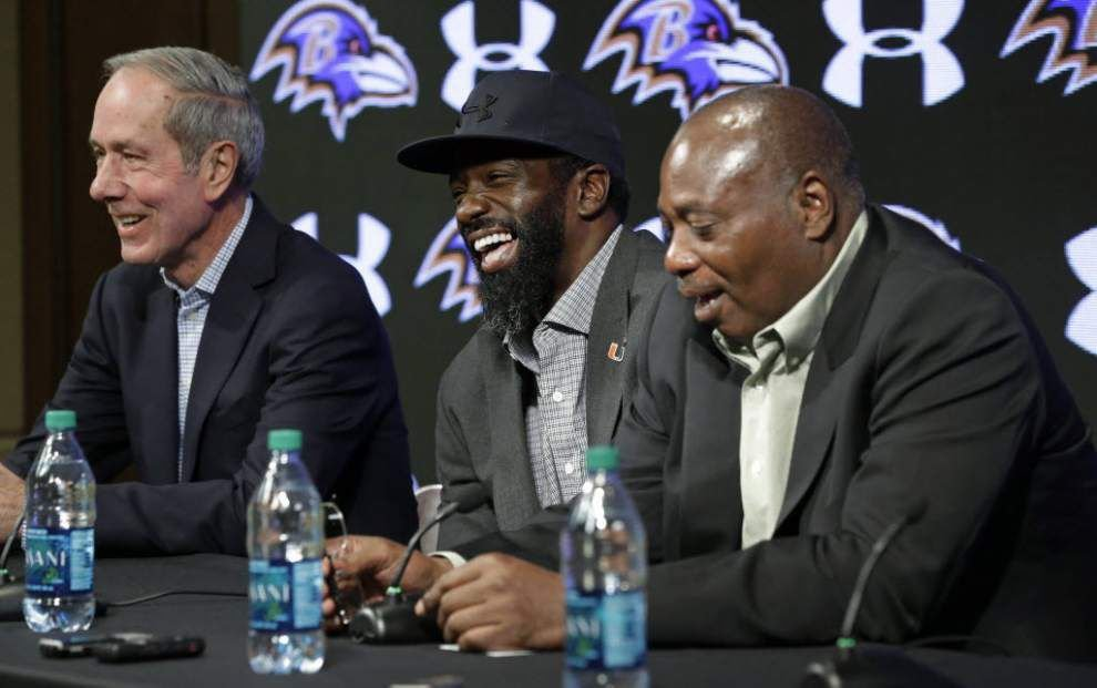 Former Destrehan High School star Ed Reed retires from the NFL as a Baltimore Raven _lowres