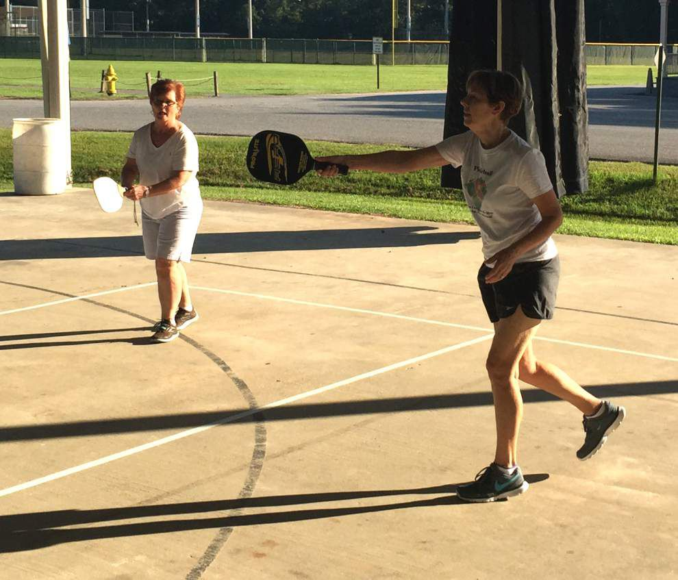 Pickleball becomes popular at West Feliciana Sports Park _lowres