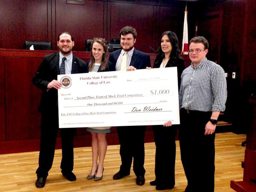 St. Francisville native part of LSU mock trial team that finished 2nd _lowres