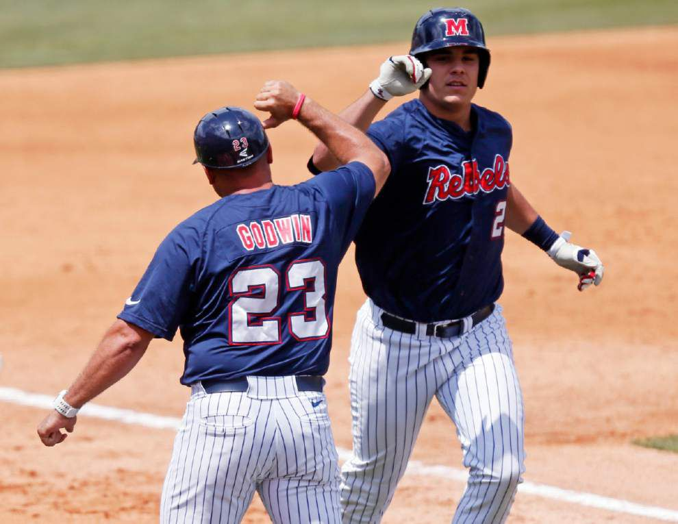 Ole Miss to face Cajuns in super regional _lowres
