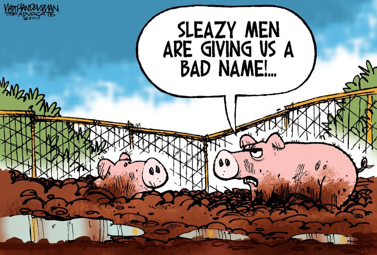 Walt Handelsman: Sleazy Men