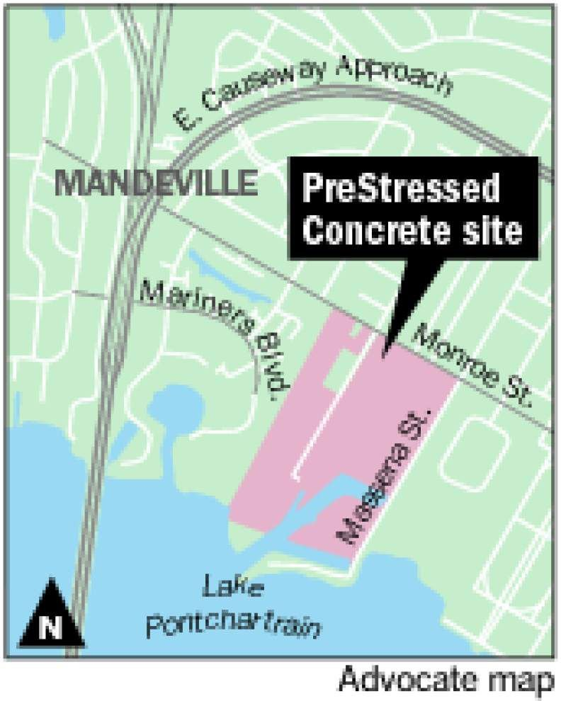 Long-idle industrial site on Mandeville lakefront could see new development _lowres