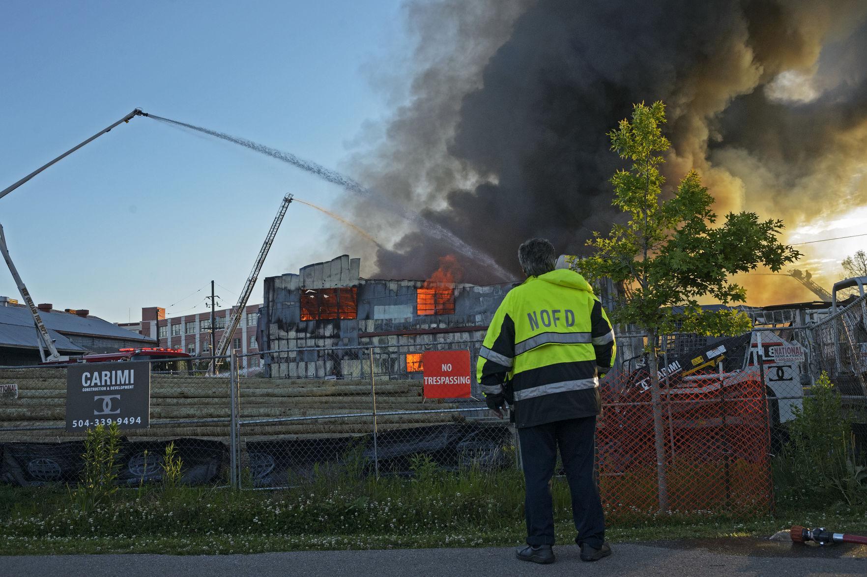 WWL TV: Canal Furniture Liquidators Owner Says 3 Alarm Warehouse Fire  U0027devastatingu0027