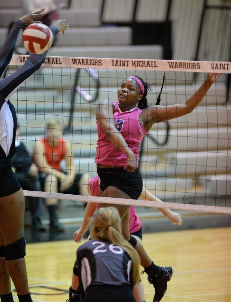 Lutcher volleyball reaching new heights this season _lowres