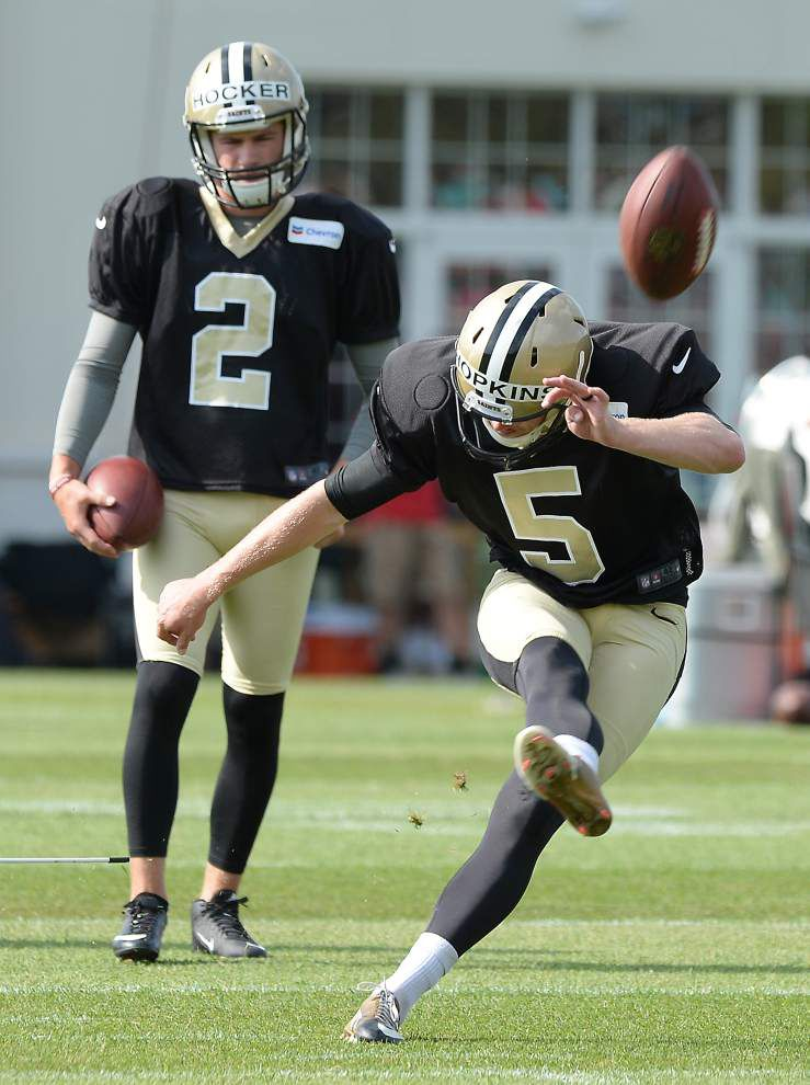 Saints kickers face version of 'The Apprentice' _lowres