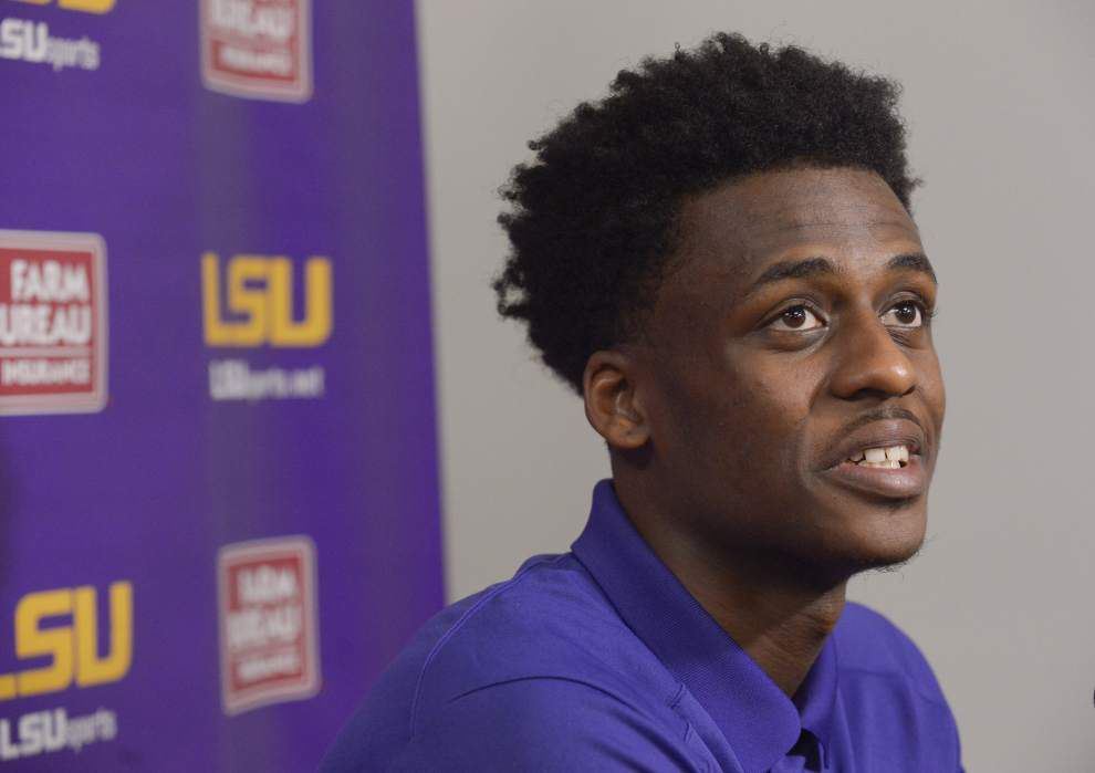 LSU coach Johnny Jones: NCAA clears Antonio Blakeney in investigation related to workout videos with trainer _lowres