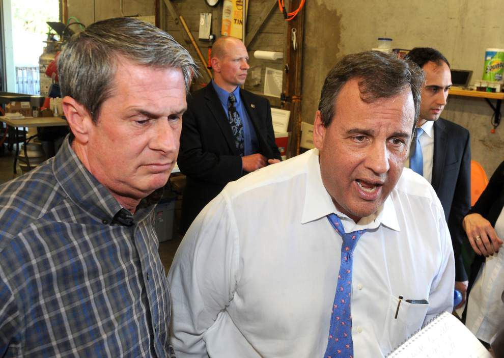 U.S. Senator David Vitter: N.J. Governor Chris Christie a 'mentor, no-nonsense leader' _lowres