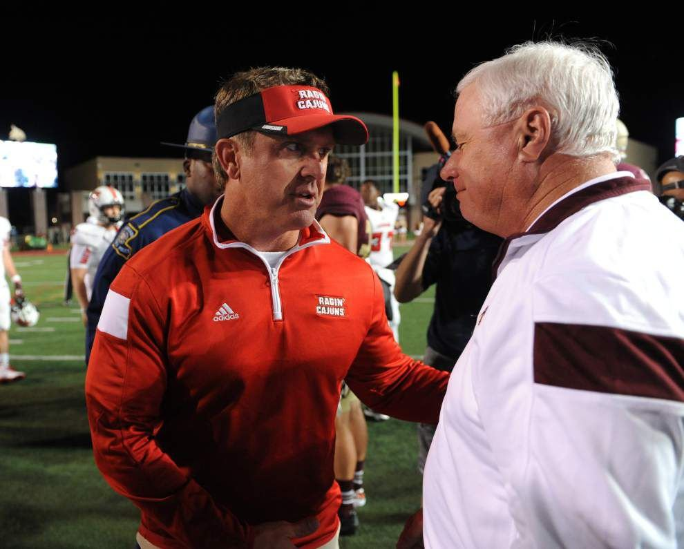 Cajuns football notebook: Texas State film looked great to coach Mark Hudspeth _lowres