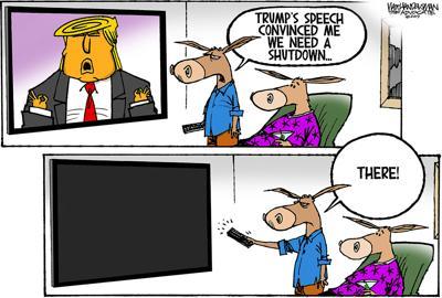 Walt Handelsman: The Shutdown