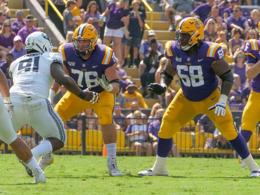 The 'ReDeculus' story of LSU right tackle Austin Deculus; 'With Austin, you just never know'