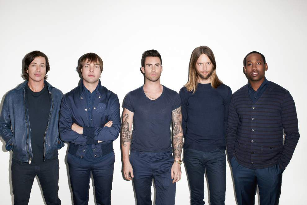 Maroon 5 to perform Sept. 5 at Smoothie King Center _lowres