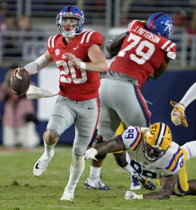 fab3c8390 lsumiss0385.102217 bf. Buy Now. LSU defensive tackle Greg Gilmore (99)  pressures Mississippi quarterback Shea Patterson ...