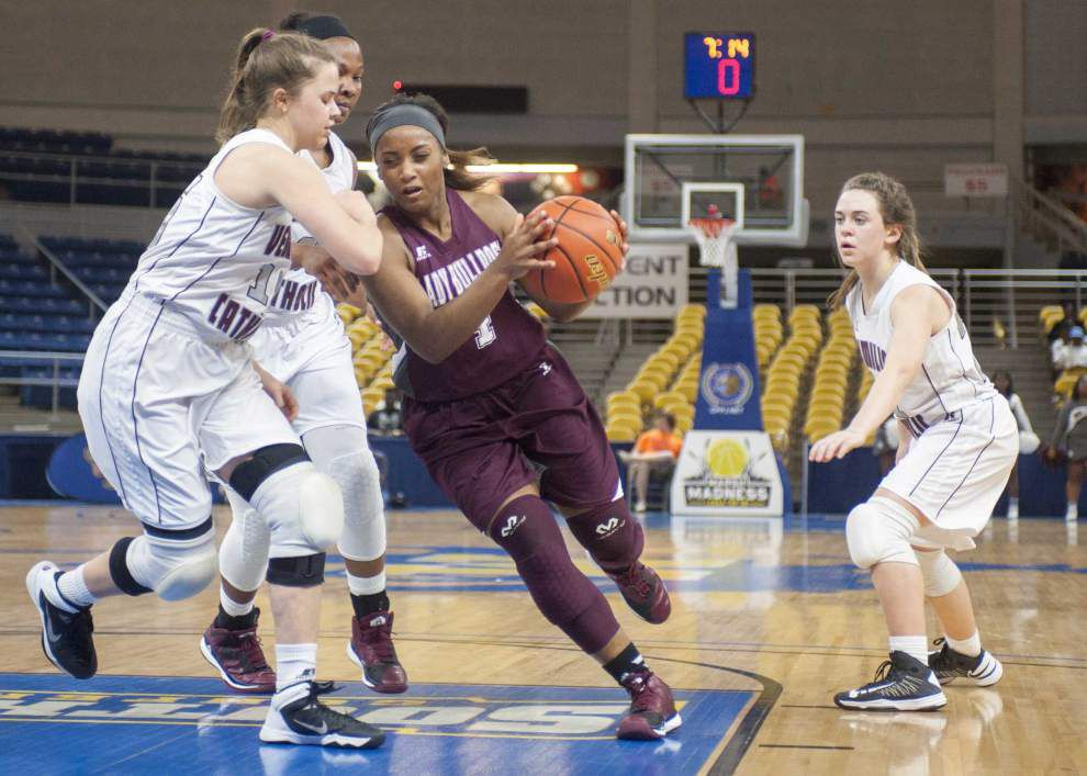 Vermilion Catholic too tall, savvy for White Castle in girls Class 1A semifinals _lowres