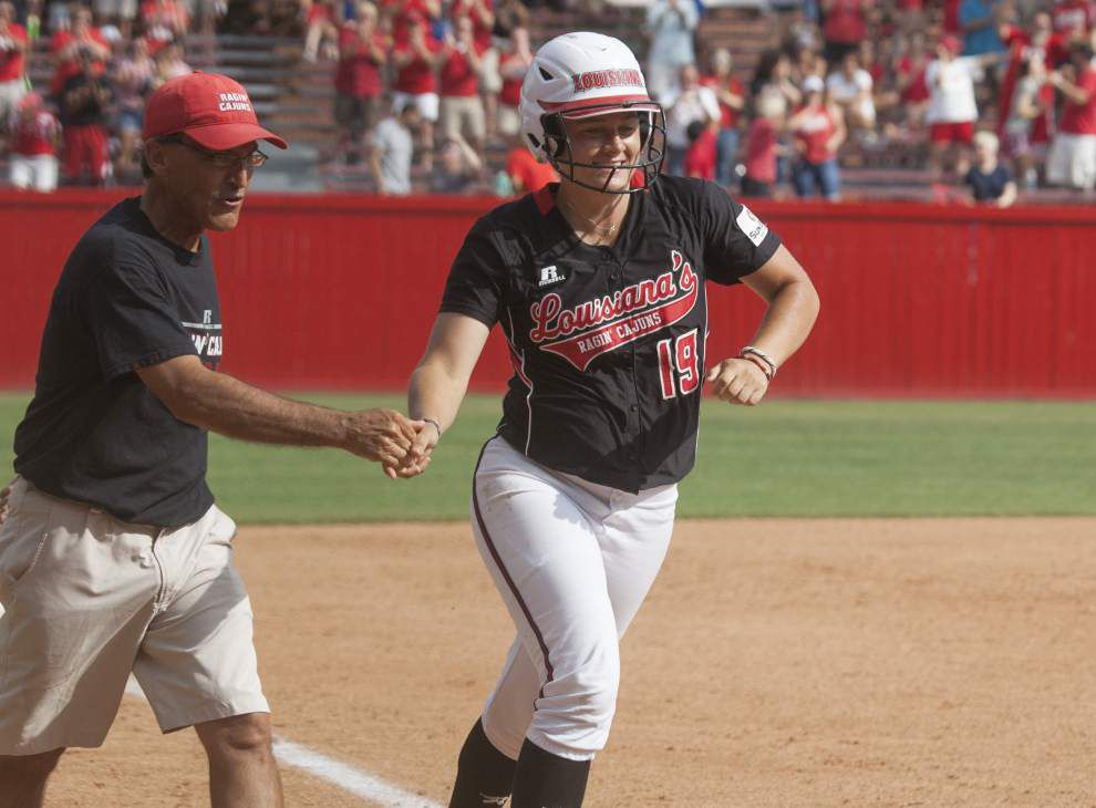 Cajuns' Michael Lotief expects plenty of offense in softball regional _lowres