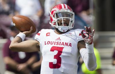 Louisiana Lafayette Texas A M Football