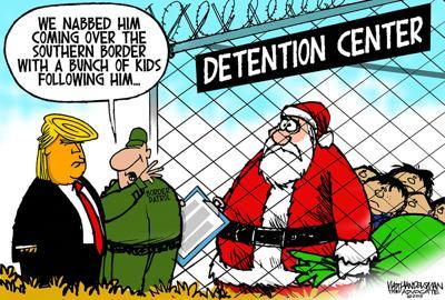 Walt Handelsman: Detained