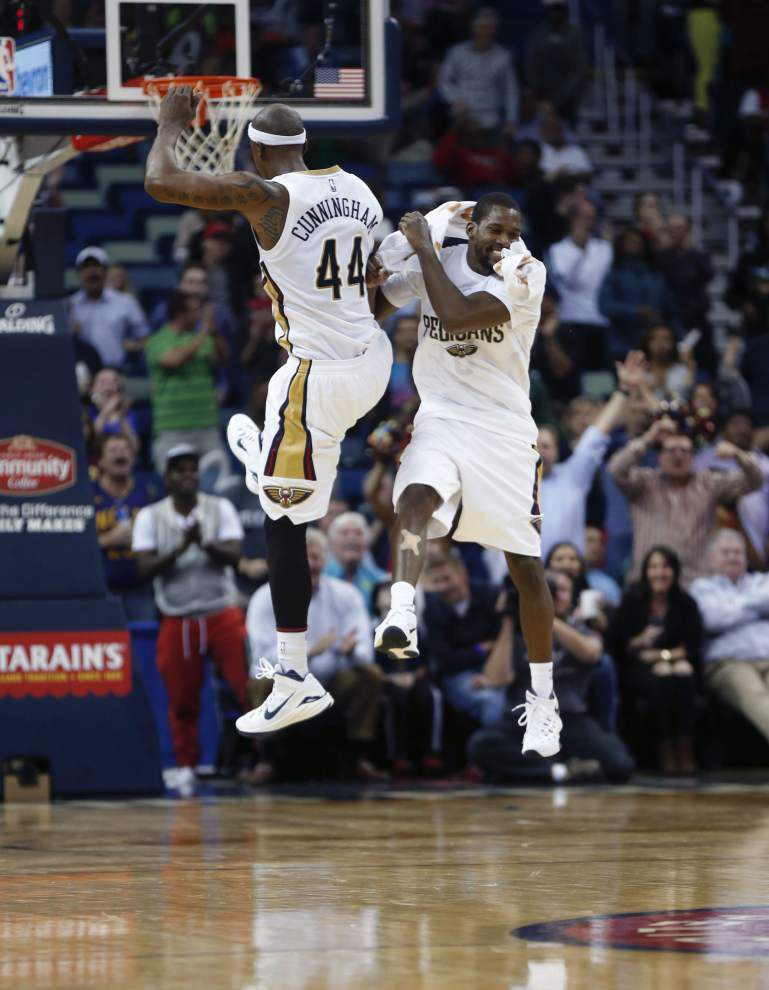 Pelicans' Dante Cunningham adds 3-pointer to his repertoire _lowres